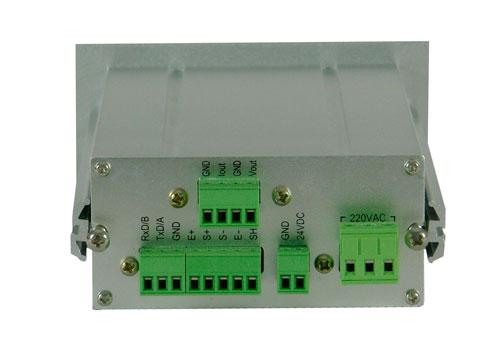 PLAC-5105L称重显示仪表背面